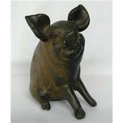 Mexican Pottery Pig Bank
