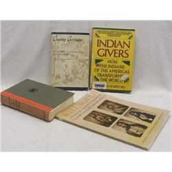 4 Native American Indian Books