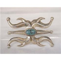 Native American Navajo Silver  Pin by Begay