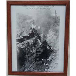 Santa Rita, NM ''Steam Shovel'' Photographic Print