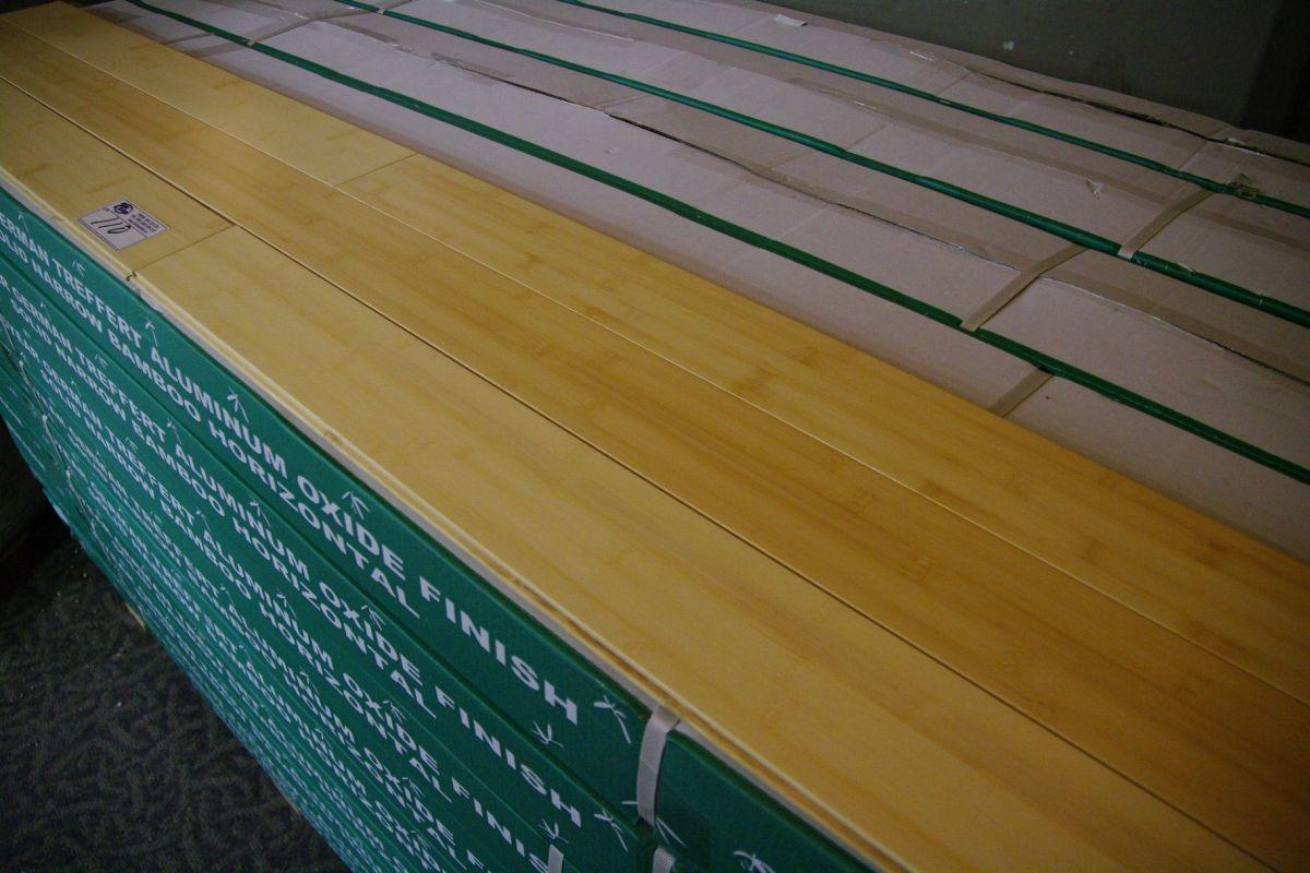 Durabam solid natural bamboo flooring able auctions for Sustainable bamboo flooring