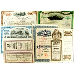 Contemporary, Miscellaneous Stock & Bond Certificates :