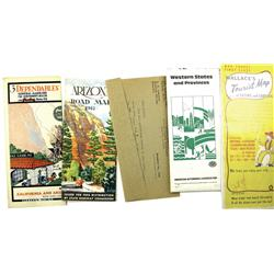 1928-1981 - Western Map Collection :