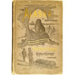 AK - 1895 - Alaska, History and Resources, The Gold Fields, Routes and Scenery, Illustrated Book :
