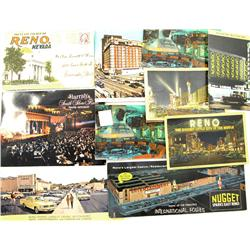 Reno,NV - Washoe County - 1930-1950s - Casino Post Card Collection :