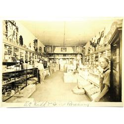 Roseburg,OR - Douglas County - General Store Interior View Photograph :