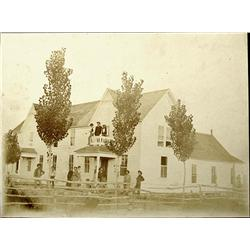 Westfall,OR - Malheu County - c1890 - Hotel Exterior Photograph :
