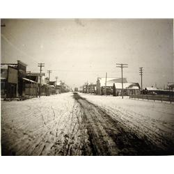 Dalhart,TX - Dallam County - c1910 - Street View Photograph :