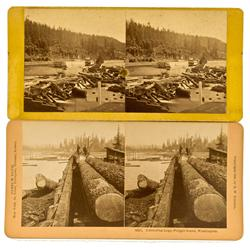 WA - 1896 - Logging Stereoveiws :