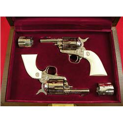 Colt Sheriff's Model Single Action Army Revolvers In 44-40 /44 Special Cal.