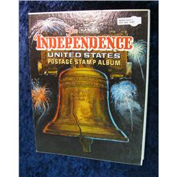 207. The Harris Independence U.S. Postage Stamp Album.