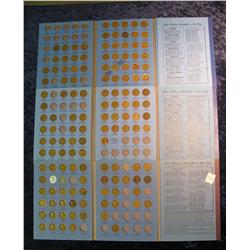 208. (3) Whitman folders with partial sets of Lincoln Cents.