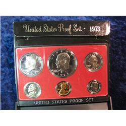 215. 1973 S U.S. Proof Set. Original as issued.