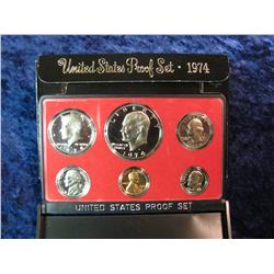 219. 1974 S U.S. Proof Set. Original as issued.