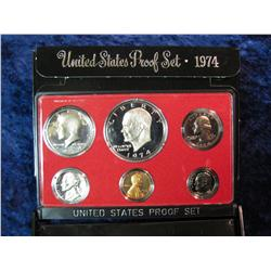 221. 1974 S U.S. Proof Set. Original as issued.