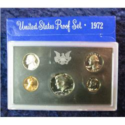 223. 1972 S U.S. Proof Set. Original as issued.