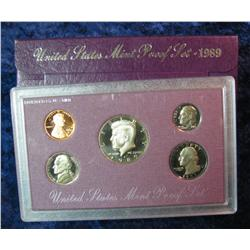 225. 1989 S U.S. Proof Set. Original as issued.