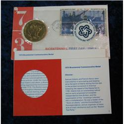229. 1973 Bicentennial Commemorative Medal in original