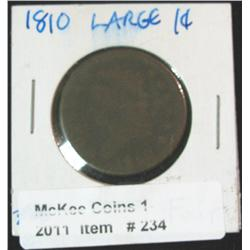 234. 1810 U.S. Large Cent. Fair.