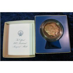 268. 1973 Official Bronze Proof Presidential Inaugural Medal