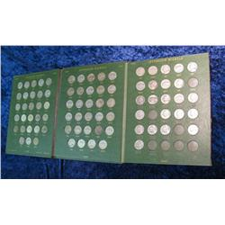 269. Green Whitman Nickel folder with Nickels 1938-72.