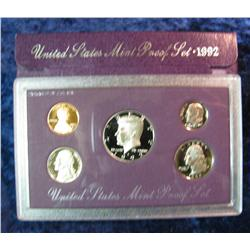 295. 1992 S Proof Set. Original as issued.