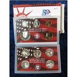 313. 2000 S U.S. Silver Proof Set. Original as issued.