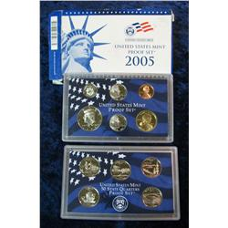 314. 2005 S U.S. Proof Set. Original as issued.