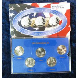 315. 2003 Philadelphia Mint Edition State Quarter Collection