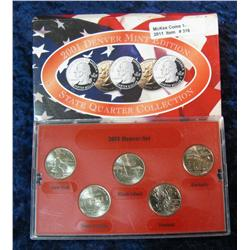 316. 2001 Denver Mint Edition State Quarter Collection