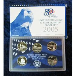 317. 2005 S U.S. State Quarters Proof Set. Original as issued.