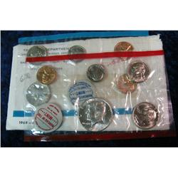 332. 1968 U.S. Silver Mint Set. Original as issued.