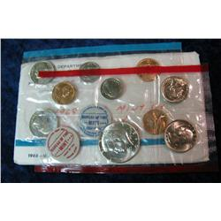 346. 1968 Silver U.S. Mint Set. Original as issued.