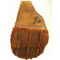 Pair of US marked Cavalry saddle bags