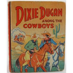 """Dixie Dugan Among the Cowboys"" Saalfield Book"