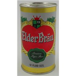 Elder Bräu Flat-Top Beer Can