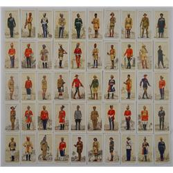 1938 John Player Military Uniforms Cards