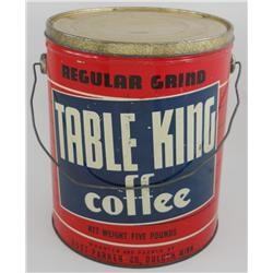 Table King 5 Pound Coffee Can
