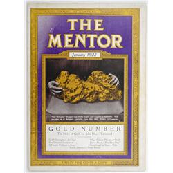 1922 'The Mentor' Magazine (Gold Edition)