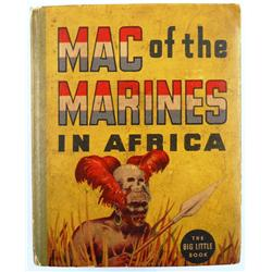 """Mac of the Marines in Africa"" Big Little Book"