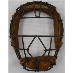 Vintage Baseball Catcher's Mask