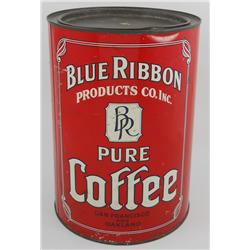 Blue Ribbon Pure Coffee Can