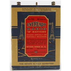 "Radio Eveready ""B"" Battery - 1929"