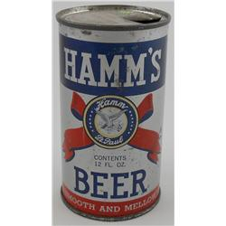 Hamm's IRTP Flat Top Beer Can