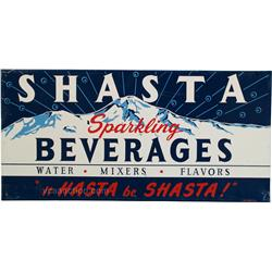 SHASTA Sparkling Beverages Tin Sign