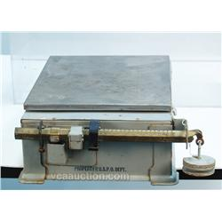 Early Countertop Metal U.S. Postal Scale