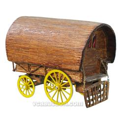 Early Toothpick Wagon