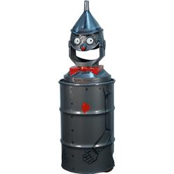 Floor Model Metal Game -Time Figural Trash Can
