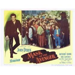 Mask of the Avenger Lobby Card