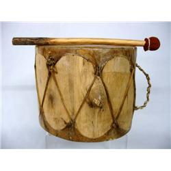 how to make a native american drum beater